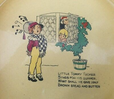 Antique Bowl~Little Tommy Tucker Sings For His Supper