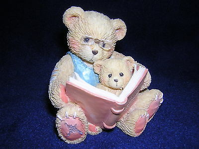 CHERISHED TEDDIES TEDDY AND ROOSEVELT The Book Of Teddies New Never Displayed