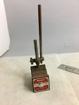 STARRETT MAGNETIC DIAL INDICATOR BASE #657, Rods, Clamp, NO RESERVE!
