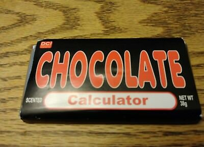 Chocolate Calculator Candy Bar Calculator Brand NEW Original Wrapper or Package