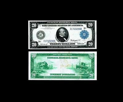 1914 $20*** Large Size****Federal Reserve Note