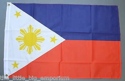 Filipino Flag New Polyester Republic of the Philippines