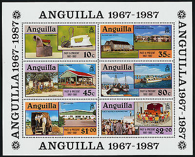 Anguilla 722a MNH Separation from St Kitts Nevis, Ship, Architecture