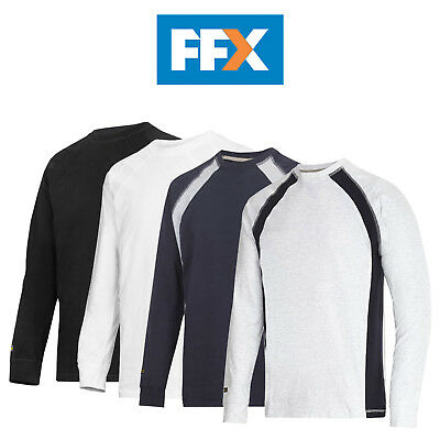 Snickers 2402 Long Sleeve T-Shirt - Various Colours and Sizes