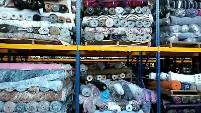 Job Lot 3 Made In Italy Assorted Fabric 25Kg = Aprrox 83Mt Approximate £1.75 Pmt