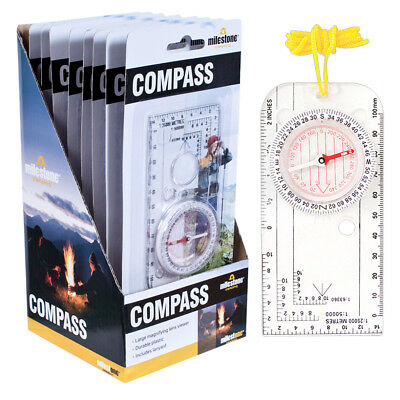 Professional Compass Army Scouts Camping Hiking Map Reading Orienteering Lanyard