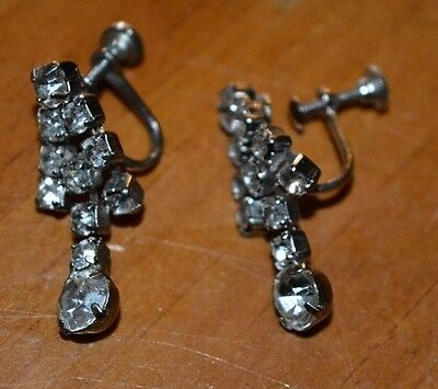 Costume Fashion Jewerly Beautiful Dangling Shiney Sparkling Earrings