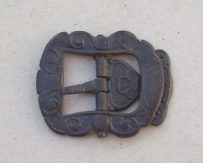 Lovely Pewter Shoe Buckle 1700's  Detecting Find