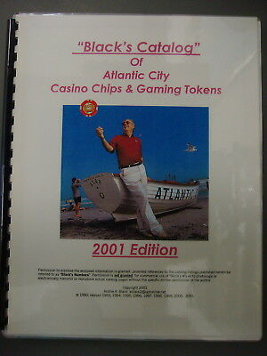 Book - Black's Catalog of Atlantic City Casino Chips and Gaming Tokens, 2001