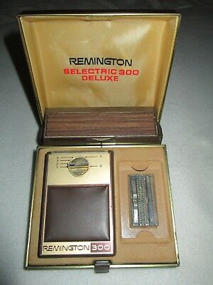 Remington selectric 300 deluxe
