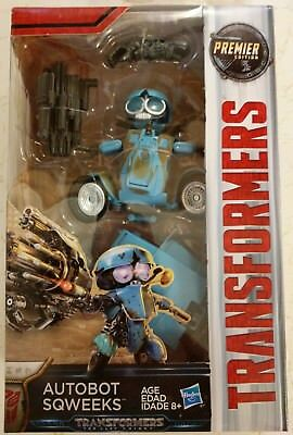 Transformers: The Last Knight Premier Edition Autobot Sqweeks 19 Steps