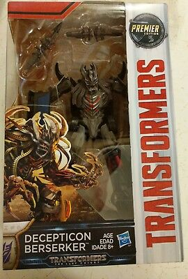 Transformers: The Last Knight Premier Edition Decepticon Berserker 17 Steps