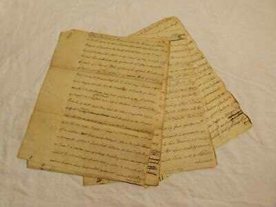 26 Page Indenture 1775 - EASINGTON - ALNWICK Interesting Document  #Y57
