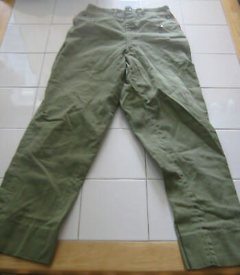 Boy Scouts of America BSA Long Olive Green Pants - No tag, no size