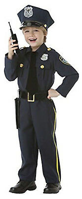 Police Officer Boys Child Cop Law Enforcement Halloween Costume