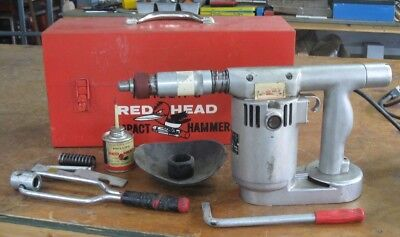 Phillips Red Head Impact Hammer model 457 by Phillips Drill Company