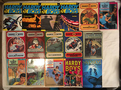 Lot HARDY BOYS softcover FRANKLIN DIXON Undercover Brothers GRAPHIC NOVEL