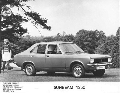 1973 Sunbeam 1250 ORIGINAL Factory Photo oua2658