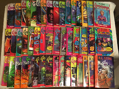 Lot of 46 R. L. STINE Hall of Horrors GOOSEBUMPS Give Yourself GHOST FEAR STREET