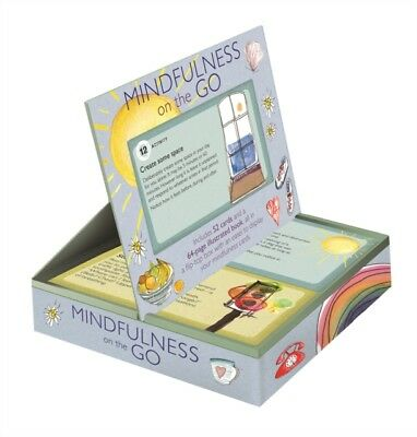 Mindfulness On The Go Cards & Book, Black, Anna, 9781782494409