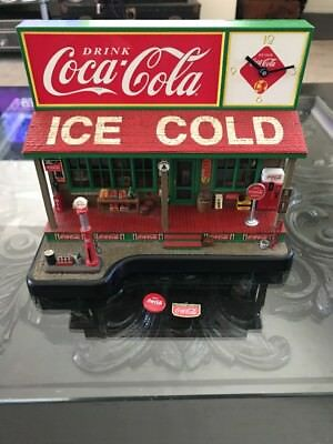 Danbury Mint The Coca Cola Country Store Clock, As-Is, No Power Cord