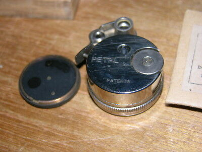 RARE Petal Round Camera by Sakura Seiki Subminiature Spy Camera Working & Nice