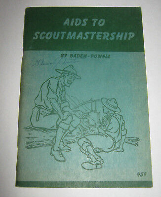 The Canadian General Council of the Boy Scouts Aids to Scoutermastership 1945
