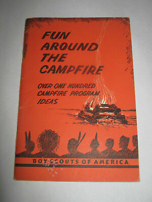 Boy Scouts of America Fun Around the Campfire 1959 BSA Book