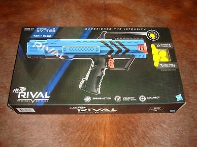 "Nerf Rival Apollo XV700 Blaster ""Blue"" New Sealed Hasbro L@@K!"