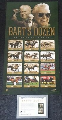 Bart Cummings Limited Edition Barts Dozen Melbourne Cup Official Vrc Print