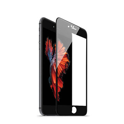 Full Cover For Apple iPhone 7 8 Plus 5D Curved Tempered Glass Screen Protector