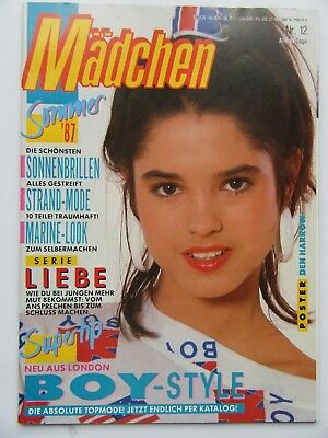 Mädchen 12/1987, Den Harrow, Simply Red, C.C.Catch, Thomas Anders, Bonnie Bianco