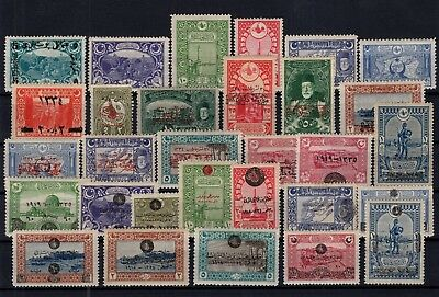 P61772/ Turquie Turkey / Lot 1918 - 1920 Neuf * / Mint Mh 99 €