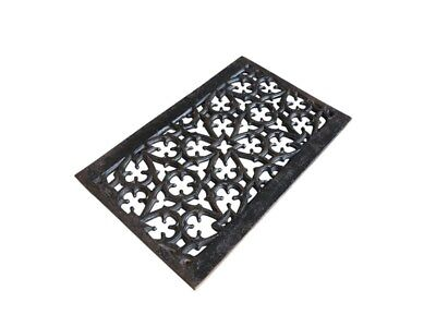 Decorative Antique Victorian Cast Iron Floor Grilles / Grids - Heating Covers