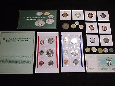 Coin lot MINT+1964 90% SILVER Quarter+ AU WW2 1943 WHEAT CENT+ALL IN Picture #61