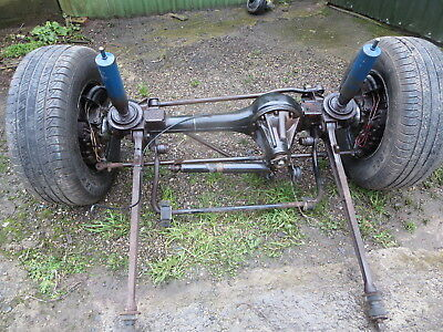 Land Rover Discovery Front Axle 200tdi 163 89 00 Picclick Uk
