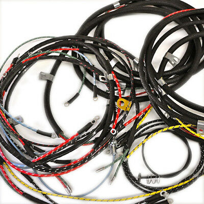 willys jeep wiring harness 1946 49 cj2a horn on fender with turn rh picclick com