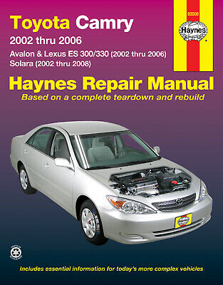 rx 350 repair manual