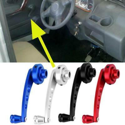 Universal Car Window Winder Crank Door Glass Handle Stainless Kit Adaptor CB