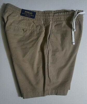 "$54 Polo Ralph Lauren Mens Classic Fit 6"" Shorts Drawstring Waist Khaki NWT S-XL"