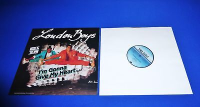 "London Boys - I'm Gonna Give My Heart 12"" Maxi ->  Dream Condition Quality Press"