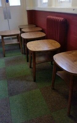 bundle of approx 10 bar pub small tables - ex social club