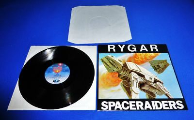 "Rygar - Space Raiders  12"" Maxi -> Ultra Rare Org.  Holland Import Top Condition"