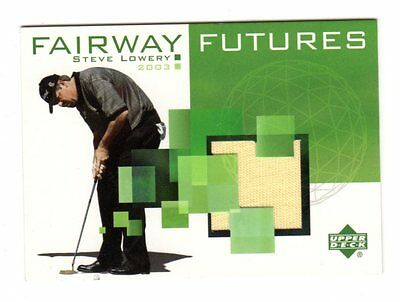 Steve Lowery Pga 2003 Upper Deck Fairway Futures Memorabilia (Golf Shirt)