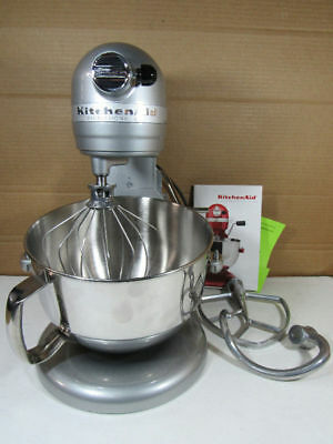 Delicieux ... Kitchenaid Professional 600 Series 6 Qt Bowl Lift Stand Mixer Metallic  Chrome ...