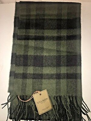 New With Tags Filson Made In Scotland Wool Limited Edition Scarf