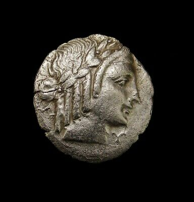 LYCIAN LEAGUE. Apollo and Lyre. Very Scarce Ancient Greek Silver coin
