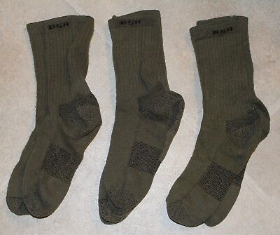 3 pairs of BOY SCOUT Licensed UNIFORM COOLMAX WICKING SOCKS Size M Scouts BSA