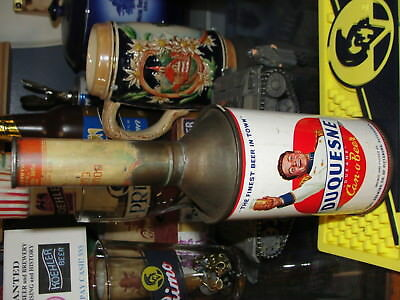 Duquesne Beer cone top can long spout Pittsburgh PA