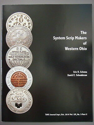 TAMS Book - System Scrip Makers of Western Ohio by Schena & Schenkman, 2016